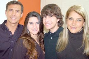 Família Bita e Cláudia     Foto de Luiz Peixoto