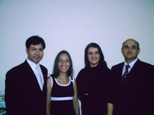 Pr. André -Vice Presidente Do conselho de Pastores de Florianópolis como Presidente Pr. Tarcísio Mangrich e esposas.