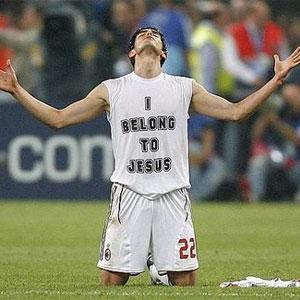 'A forma que tenho de pregar o evangelho é minha profissão', diz Kaká