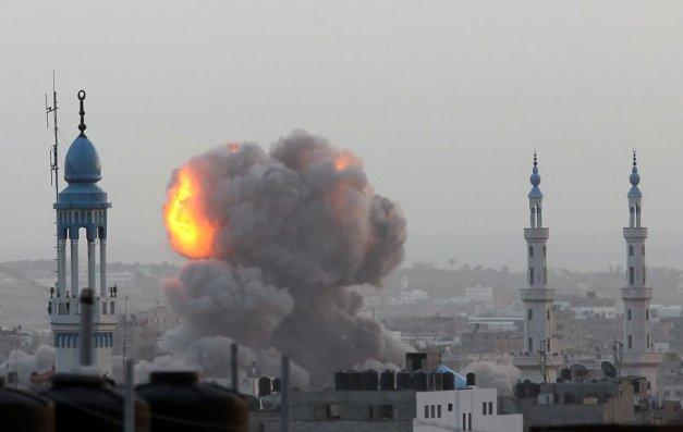 Resultado de imagem para guerra em gaza 2019