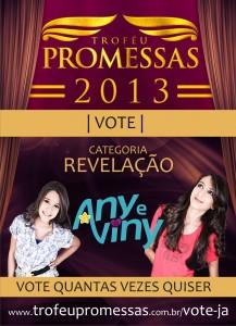 any_e_viny_revelação_do_trofeu_promessa_rede_globo_2013