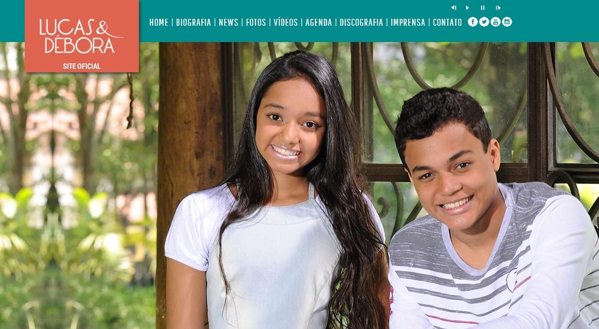Site Lucas e Débora